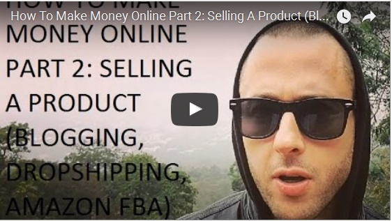 How to make money online part 2 selling a product for How to make money selling t shirts online
