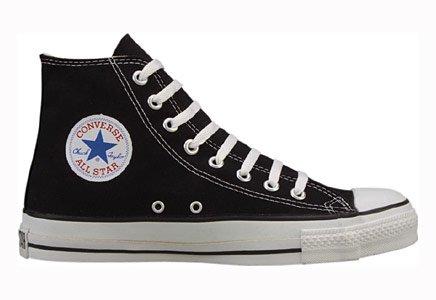 Black Converse Hi Tops