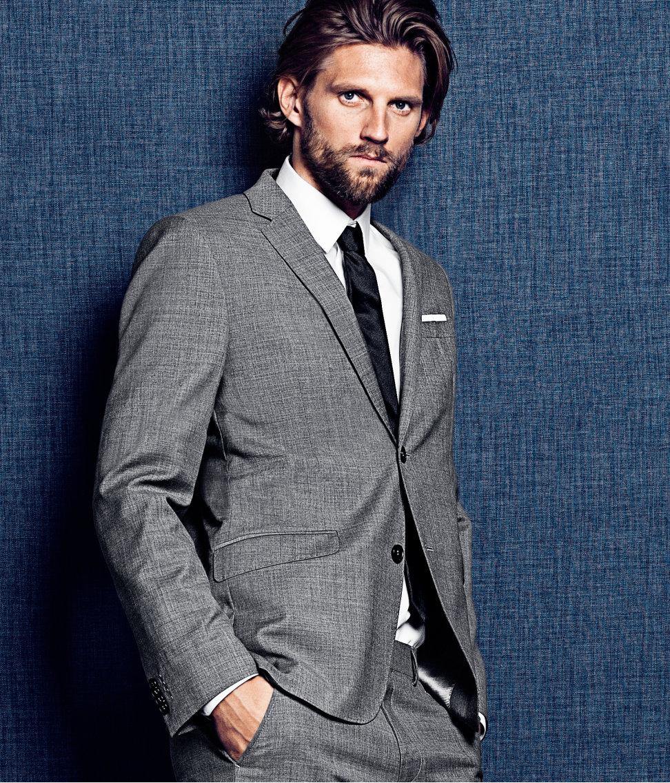 Gray Blazer H&M