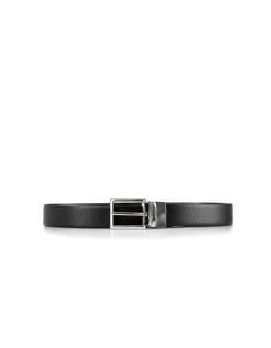 Zara Black Brown Reversible Belt