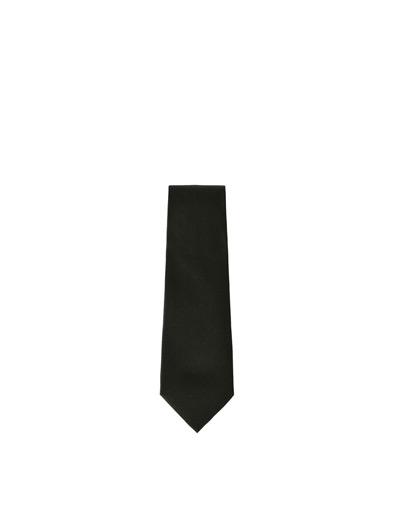 Zara Black Wide Satin Tie