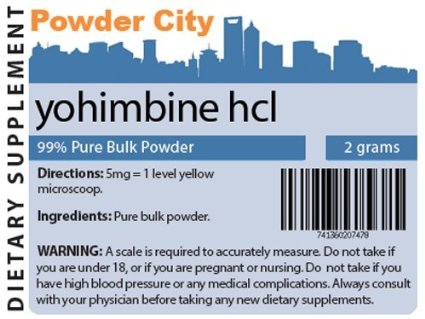 Yohimbine HCL Review: How To Become A Sexual beast