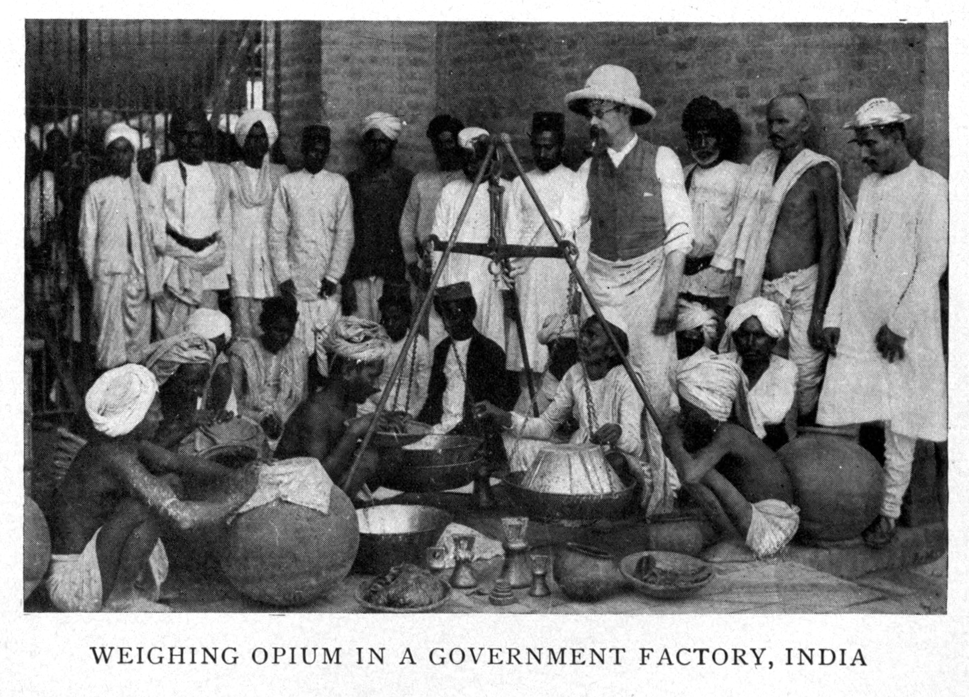 Selling Opium To China