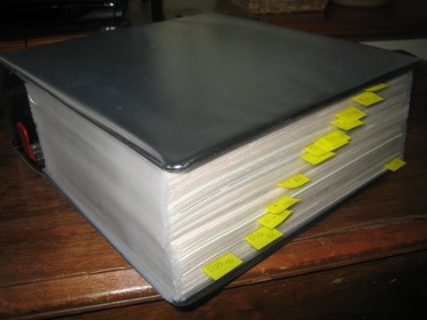 Will's Giant Binder Of FAIL